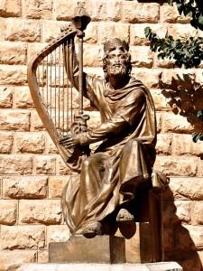 King David on Mount Zion, Jerusalem