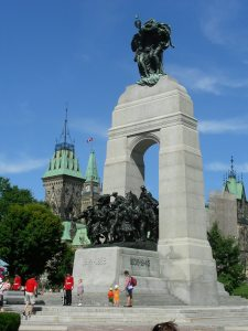 The National War Memorial: Credit Ottawa Tourism