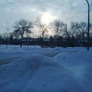 Winter Sunrise --David Kitz