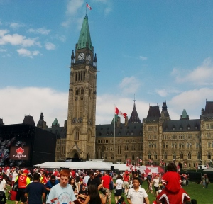 Parliament of Canada, Ottawa, ON -- David Kitz