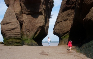 Hopewell Rocks, New Brunswick -- David Kitz
