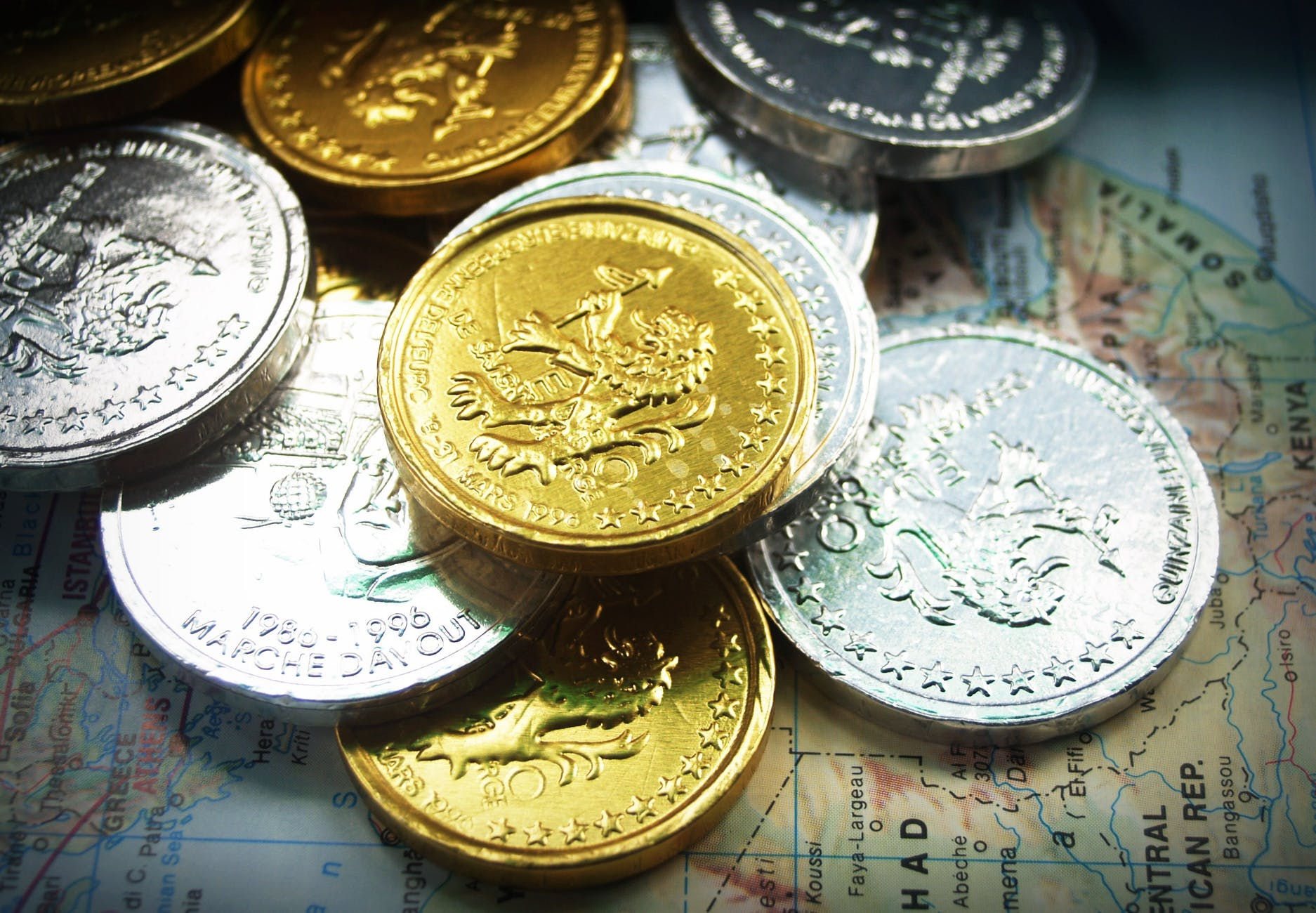 coins commerce currency finance