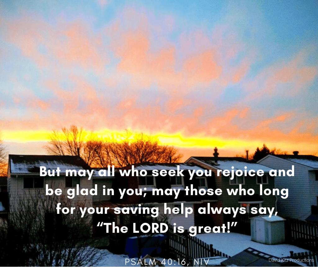 Psalm 40-16