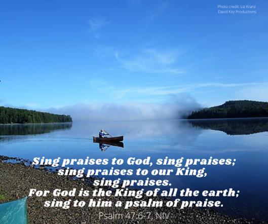 Psalm 47-6-7