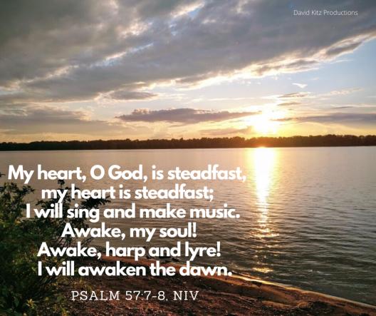 Psalm 57-7-8