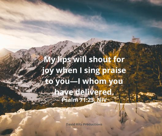 Psalm 71-23
