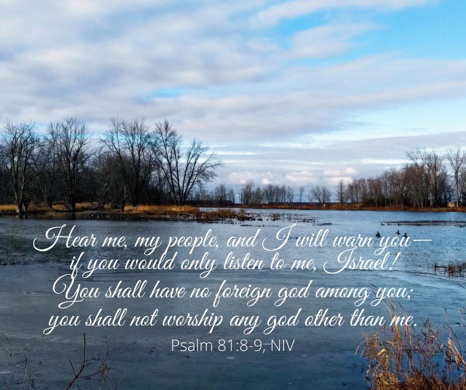 Psalm 81_8-9