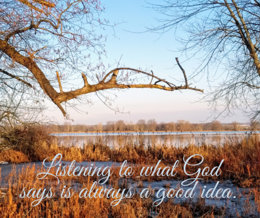 Psalm 365 Listening to what God says