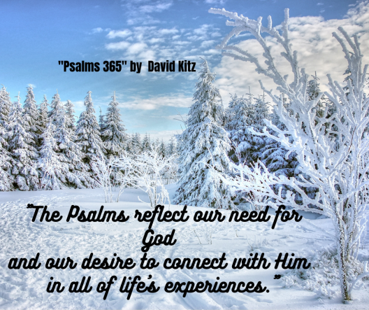 The Psalms reflect our need for God and our desire to connect with Him in all of life's experiences.