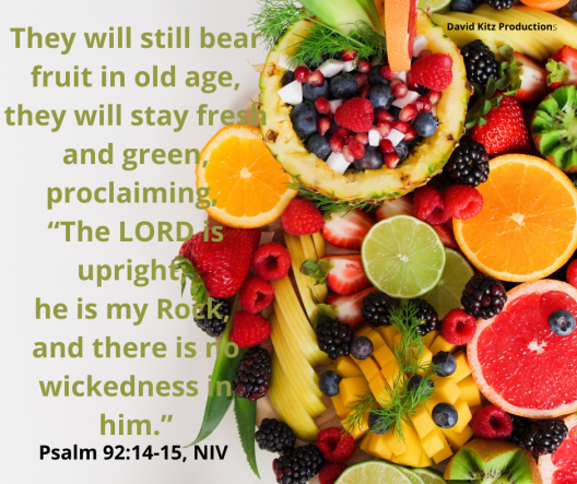 Psalm 92-14-15