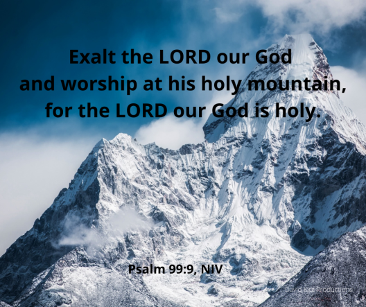 Psalm 99_9