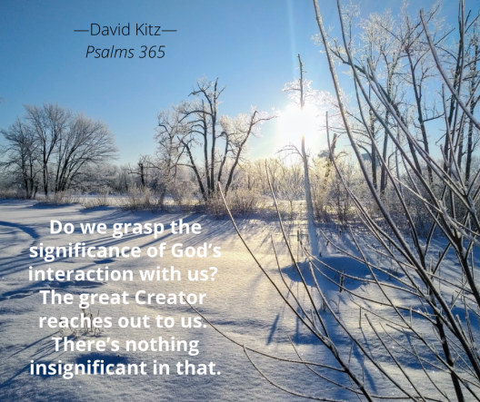 God's interaction with us 365 Psalm 106b