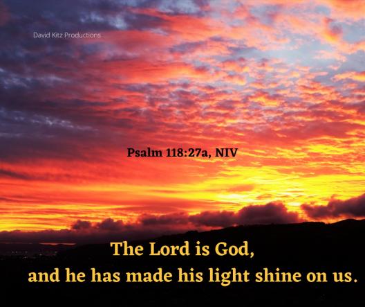 Psalm 118_27a