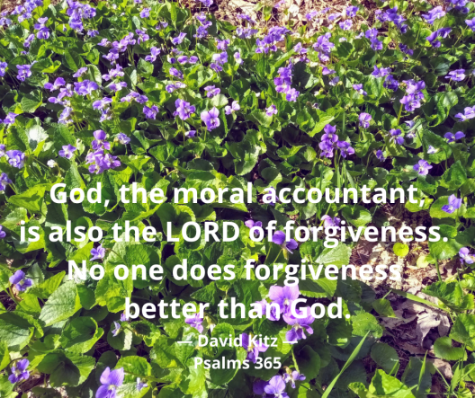 Psalms 365 moral accountant 130