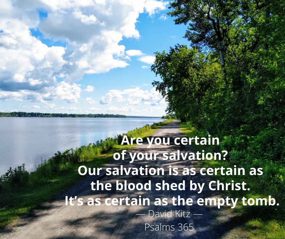 365 Certain of Salvation 140b