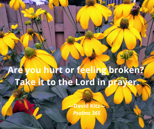 Take it to the Lord in prayer - Psalm 6