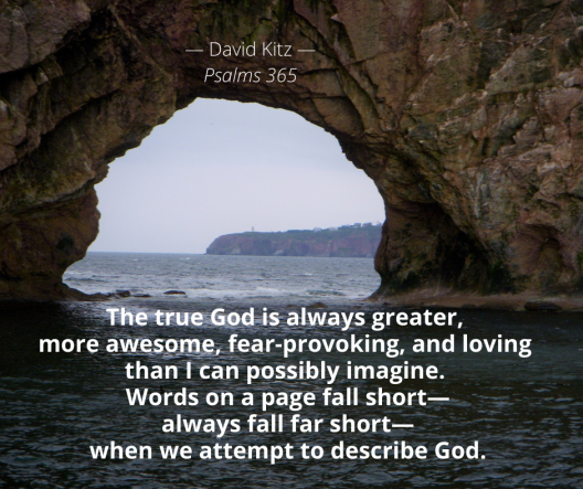 Describing God 21b