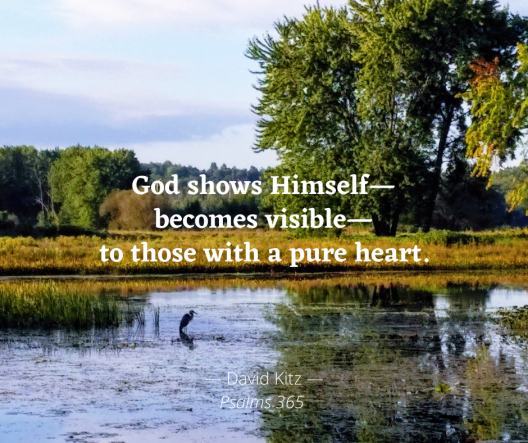 God becomes visible Psalm 18d